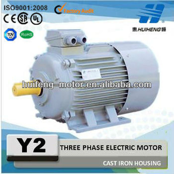 Cast Iron Housing Three phase motor electric