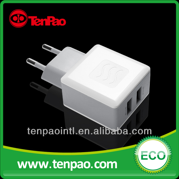 17W 5V 3.4A mobile phone travel charger