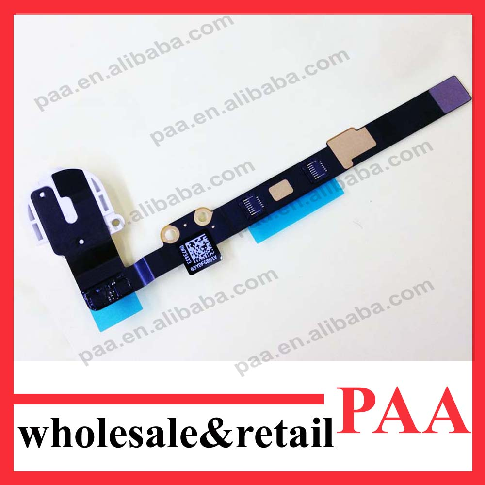 for ipad Mini 2 retina Headphone Jack Flex , Audio jack Flex Cable