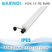 Factory New ip65 waterproof led light 40w,110lm/w led light fitting t8 1.5m 5ft