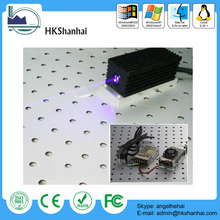 Hot 300mW/400mW adjustable violet light lens 405nm laser diode price