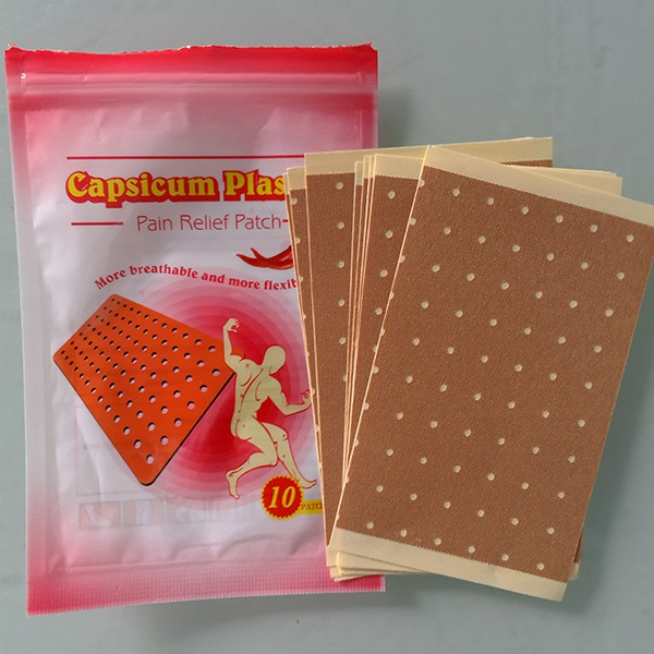 10pcs Chinese natual herbal Medical Back Pain Pepper Chili pain relief patch/botanical capsicum plaster / porous plaster