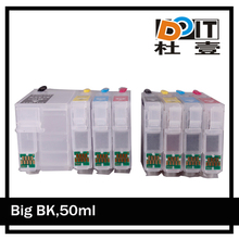 Compatible/refillable ink cartridge for epson T2521-4,t252xl chip