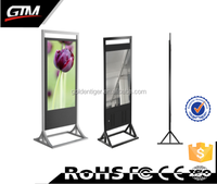 lcd digital ad display lcd video screen china blue film video media player full hd media player