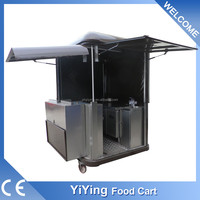 china manufacturer Shanghai Yiying factory supplier YY-FS175R micro mobile advertising kebab van for hot dog