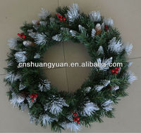 2013 new christmas wreath with decorations