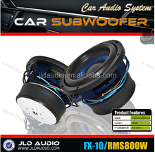 12 inch high performance jld audio spl subwoofer car competition 800-1600w with wire subwoofer