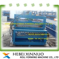 russia type xinnuo c10+c21 double layer roof tile making machine from clay