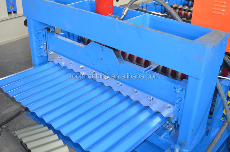 Full automatic steel frame cad roll forming machine