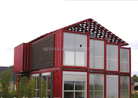 2017 Prefabricated 20ft Modified Confortable Living Container House