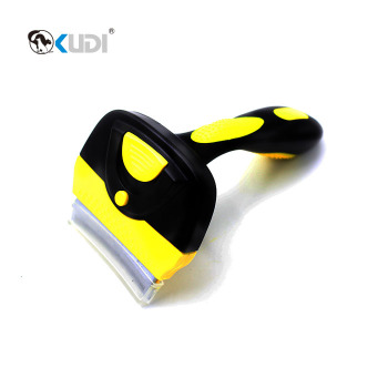 Pet deshedding gooming tool for dogs ,dog deshedding brush