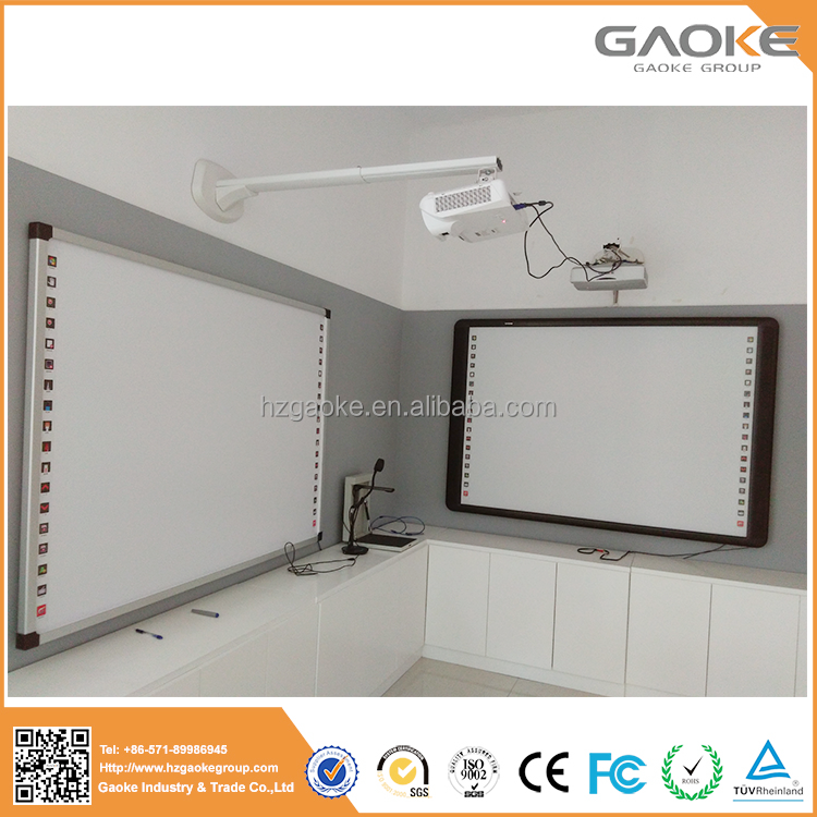 GAOKE Infrared / IR Multi Touch Interactive Whiteboards infrared interactive whiteboard