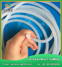 Silicone rubber glass shower door seal strip
