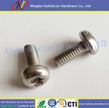 Affordable fAffordair machine screws Torx head thread cutting machine screws with yellow zinc plated manufacturer direct selling