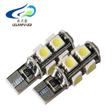 Led t10 194 led bulb canbus 5050 SMD 9LED auto led interior light