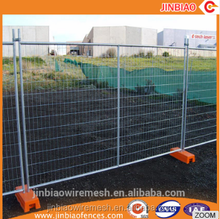 Construction galvanized mobile retractable temporary fence for Australia market.