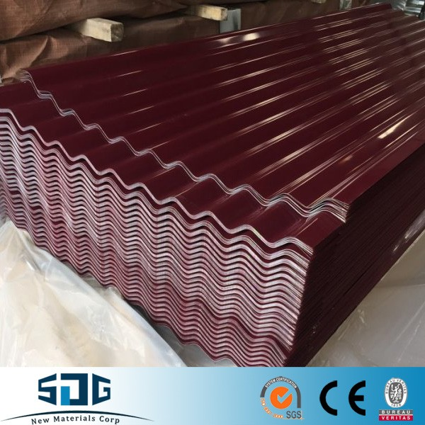 Canada popular 24gague Galvanized decking sheets 36 inches width ,wall deck 26gague plain galvalume