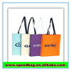 Promotional pp pe woven bags simple style shopping bag colorful cotton bag