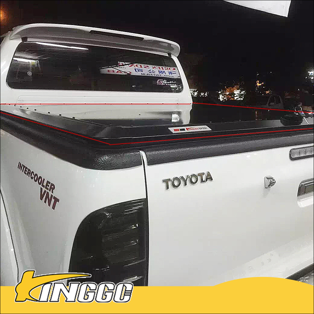 new car accessories 3MM thickness with key triton truck pickup tonneau covers
