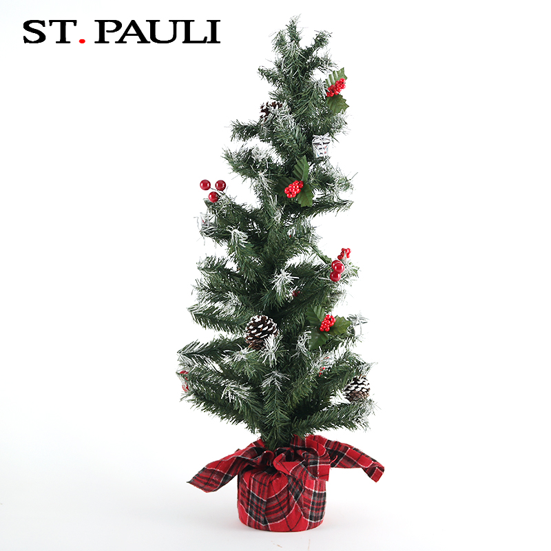 hot selling christmas traditional indoor decorative artificial pine tree for cheap sale
