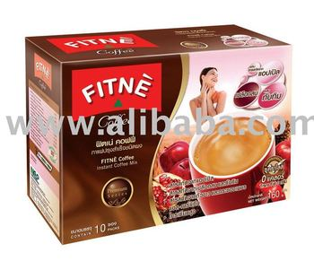 FITNE Coffee with Apple Extract, Pomegranate Extract & Pine Bark Extract