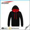 Wholesale latest design plain mens sport fleece pullover hoodies