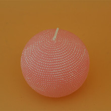 Allite candle making machine white pink ball candle with soy wax plam wax AB51A