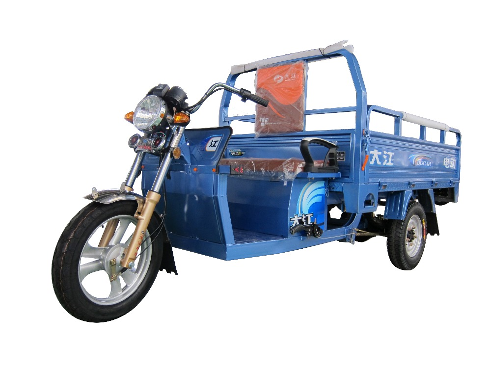 Chnia Ducar ZhengFeng 60V1000W brushless electric machine open type electric tricycle for cargo