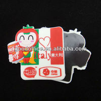 For food promotion soft pvc pridge magnet