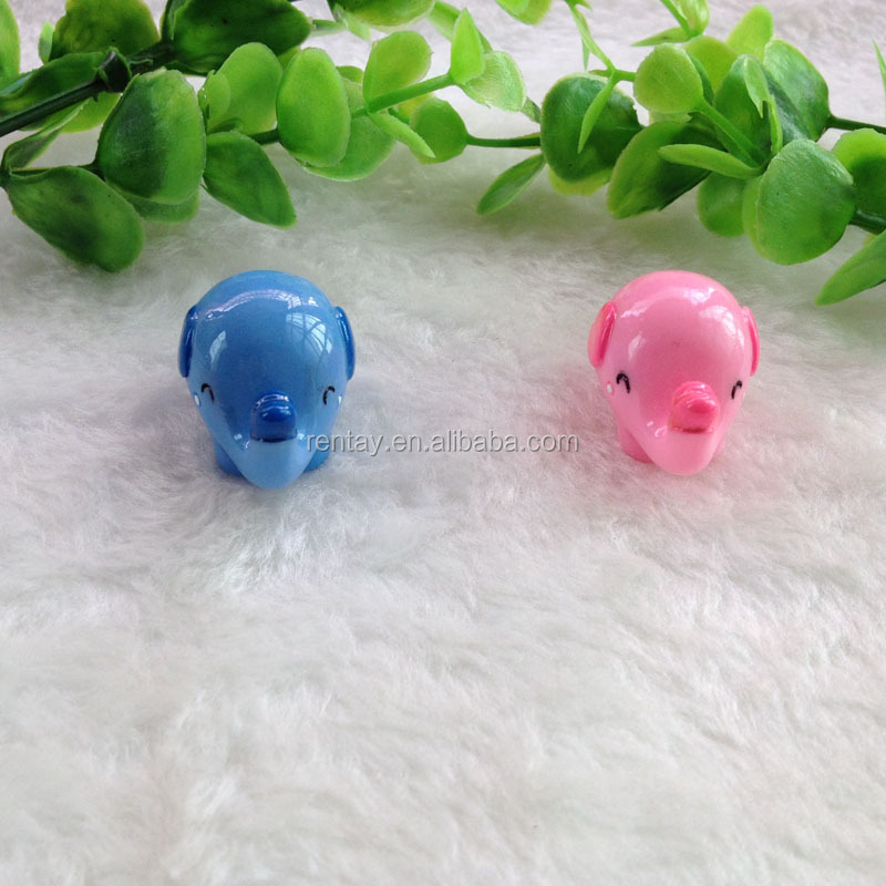 New Arrival Elephant 3D Kids Resin Characters DIY Kawaii Cabochons for Shoes Buckle