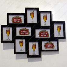 Collage Wall Frame MDF, Stella Artois, SEDEX