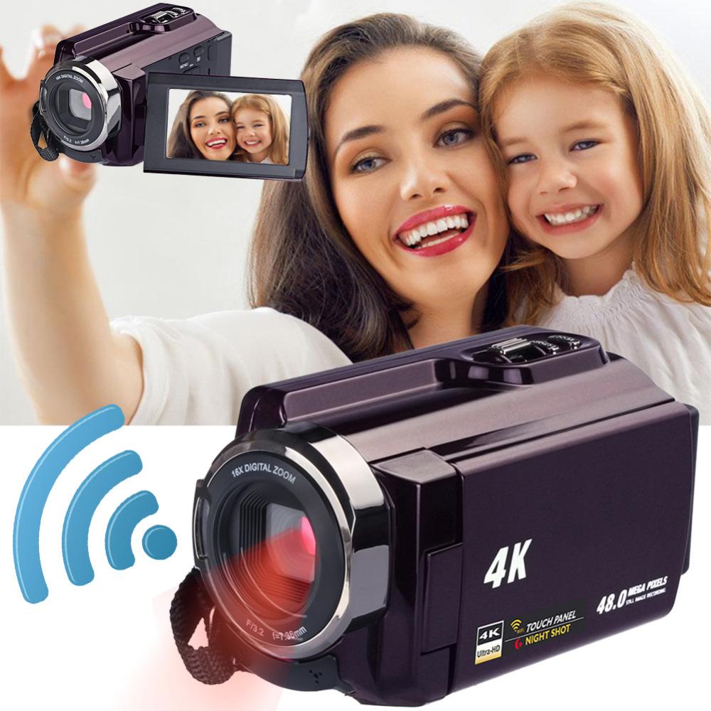 Высокое качество 4 к видеокамера-Регистратор видеокамеры Ultra HD цифровой Камера s и DI0085600 (1)