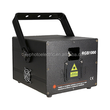 Factory Customized Logo RGB Laser Stage Light Show Projectors Systems For Wedding