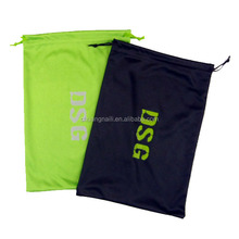 Double drawstring microfiber goggles pouch