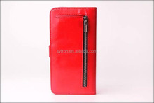 premium leather wallet waterproof case for apple iphone 5