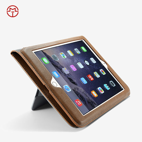 Stand Case With Auto Sleep Feature Leather Case For IPad 6 Case , For Ipad Air 2 Case , For Ipad Mini Case