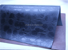China Dongguan embossed leather goods