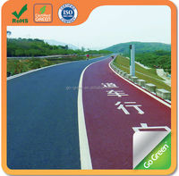 Nature asphalt cycling track cold mix color asphalt manufacturer