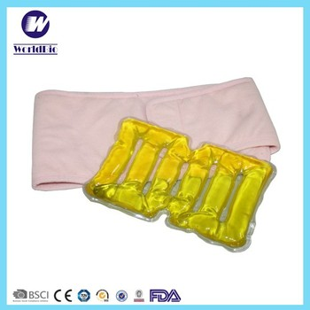 Back belt with Magic Instant Gel hot pack for rehabilitation therapy