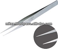 HOZAN P-876 Low-cost stainless tweezers