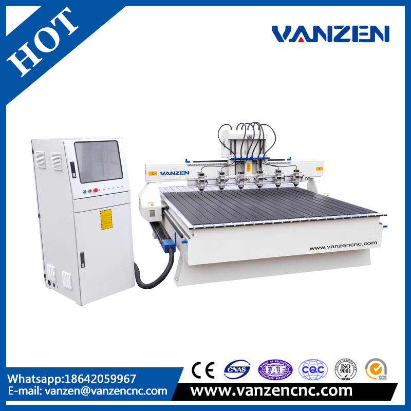 1.5kw water cooling spindle cnc router wood carving machine
