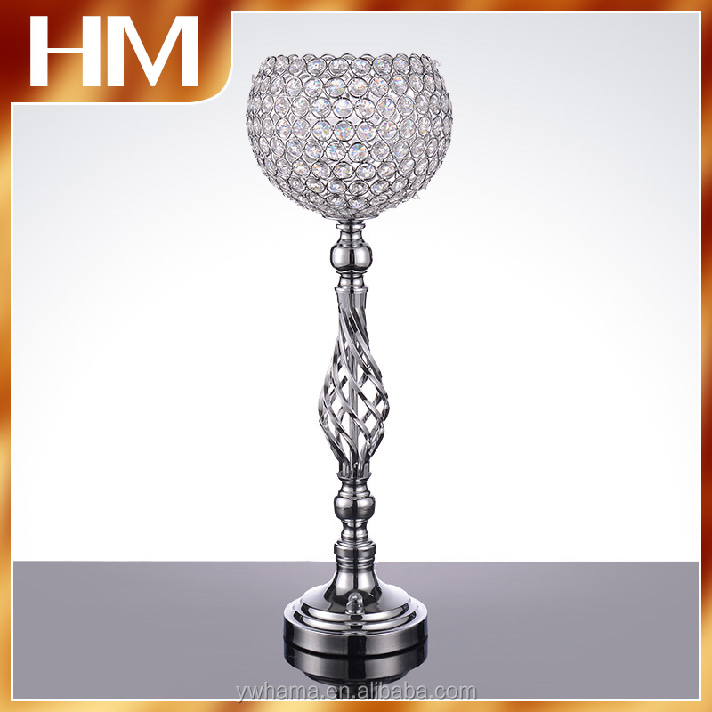 Professional crystal centerpiece wholesale good service