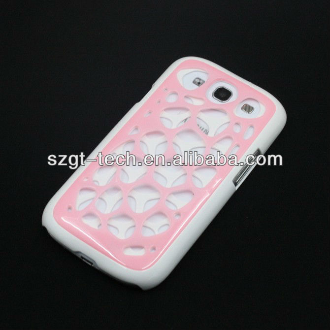 2 Layers Bird Net Design Hard PC Case For SamSung i9300 Galaxy S3