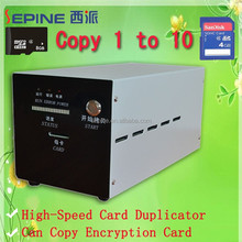 High quality micro sd card duplicatore copy1010, secure digital card copiatrice, Secure Digital duplicatore