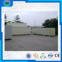 100mm chiller cold storage room PU insulation panel