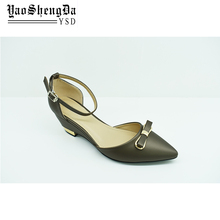 OL Pointed Toe Sexy Pumps Shoes Heels Girls Dress Shoes Made In China