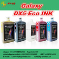 Top Selling Original Galaxy dx5 dx7 eco ink for eco solvent plotter