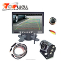 7Inch Digital Monitor HD Waterproof Camera Rear View System For Bus Truck