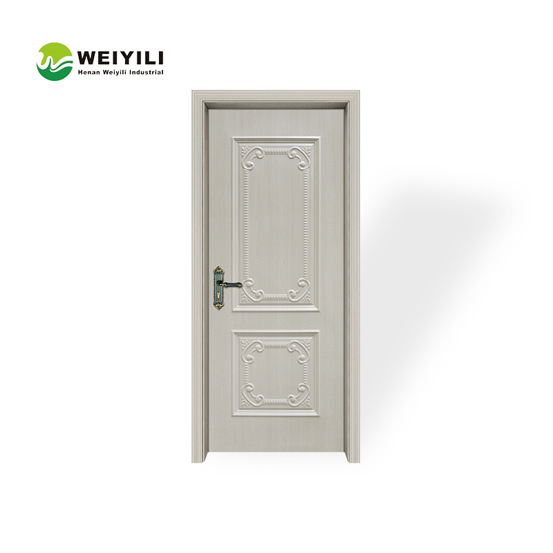 Composite HDF Molded Veneer Flat Wooden Door