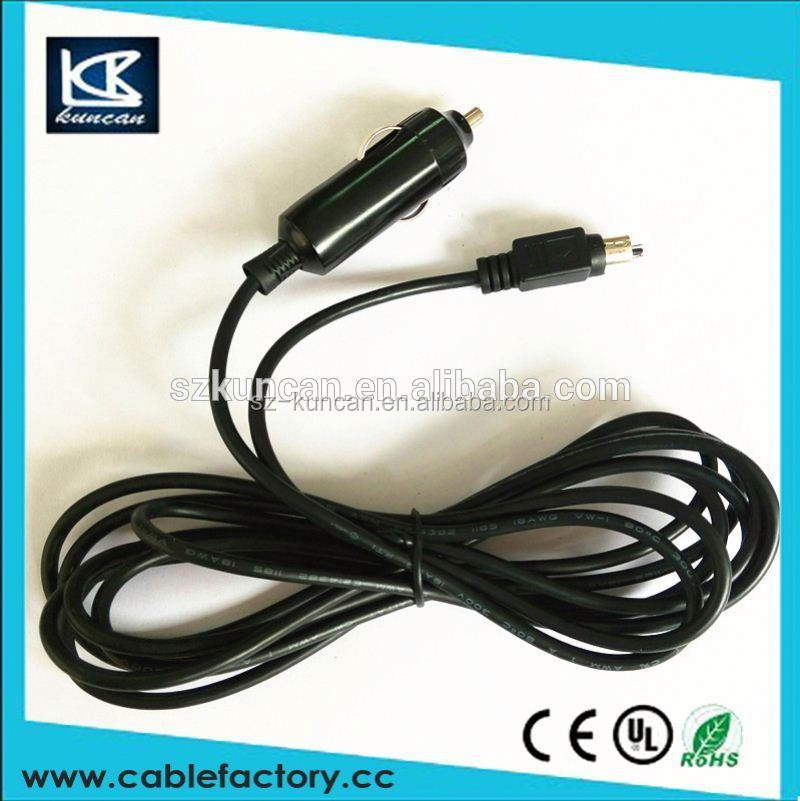 Car power supply adapter cable car cigarette lighter with power cable super quality